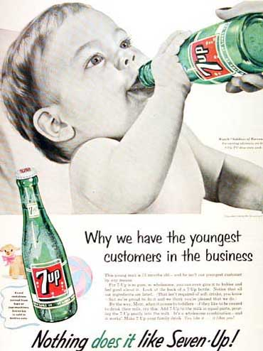 Old Seven Up Advert