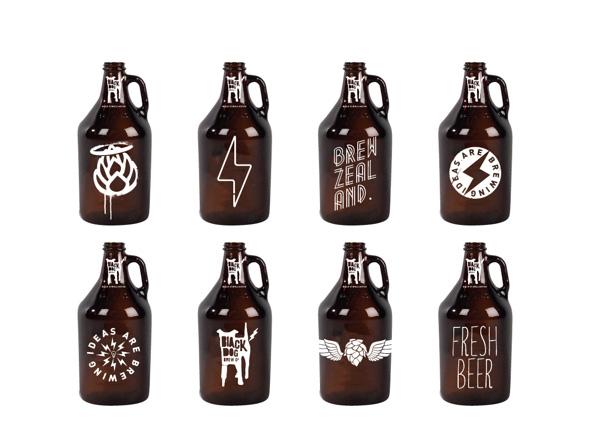 Black Dog Brew Co Bottles