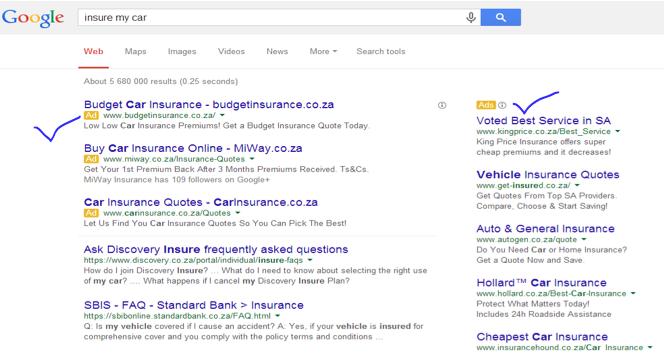 Insure my car example_Online marketing_Marketing