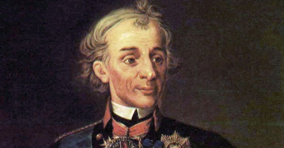 General Suvorov Russian Supreme commander