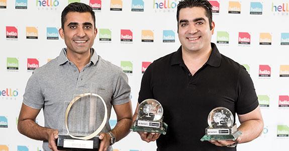 Nadir Khamissa and Shaazim Khamissa