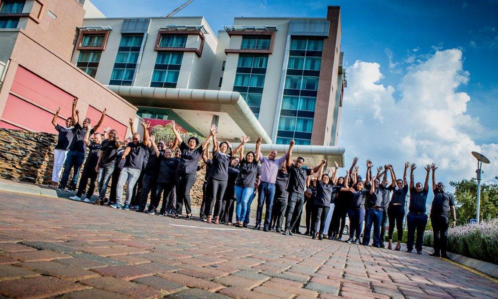 Tsogo Sun Entrepreneurs Class of 2018 with Hezron Louw